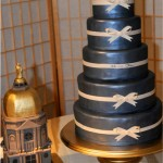 Cake shaped like Notre Dame golden dome