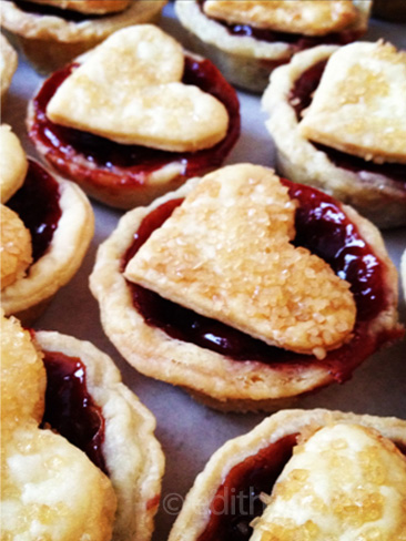 Image of Edith Meyer Wedding Cakes cherry tartlets