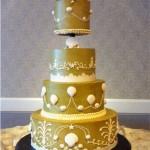 Shells wedding cake
