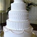 Villa Montalvo wedding cake