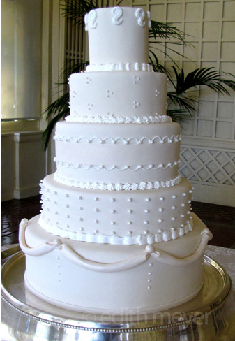 Villa Montalvo wedding cake