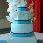 Mixed shapes cake