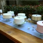 Wedding Cake buffet Santa Cruz