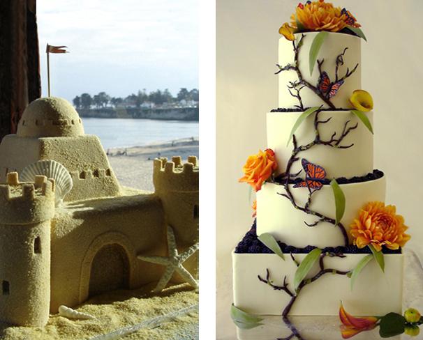 image of decorative wedding cakes - Decorative Cakes